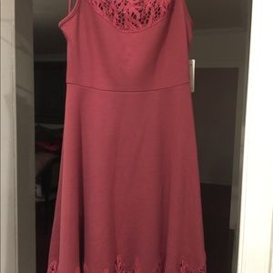 Free People Dress with Lace